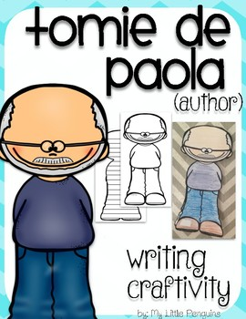 "Tomie de Paola ""Craftivity"" Writing page (Author of Strega Nona)"