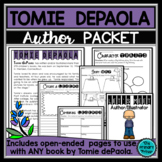 Tomie dePaola:  An Author Study Packet