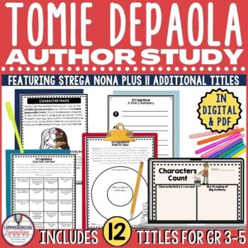 Tomie dePaola Author Study Bundle for *12* Titles