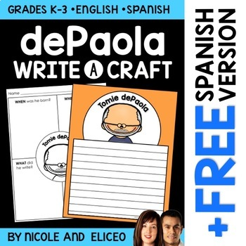 Writing Craft - Tomie dePaola Author Study