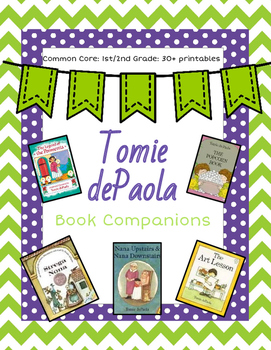 Tomie dePaola Book Companions: 30+ Story Response Sheets
