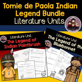 Tomie dePaola Indian Legend Bundle: A Literature Unit