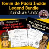 Tomie dePaola Indian Legend Bundle A Literature Unit
