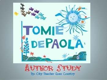Tomie dePaola PowerPoint with Video Link