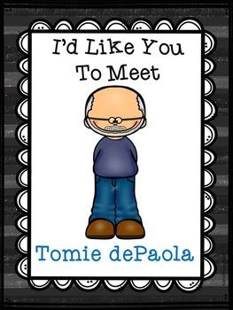 Tomie dePaola Author Study Mini Report