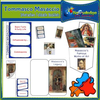 Tommaso Masaccio Interactive Foldable Booklets