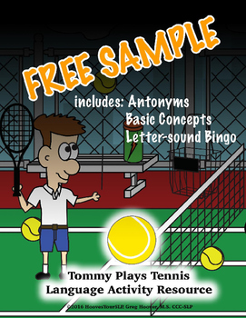 Tommy Plays Tennis Free Sample