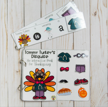 Tommy Turkey's Disguise: An Interactive Book for Thanksgiving.