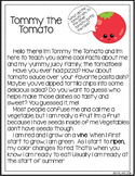 Tommy the Tomato Reading Passage