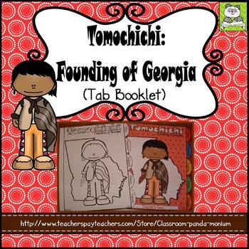 Tomochichi: Founding of Georgia Tab Booklet