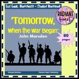 Tomorrow, When the War Began John Marsden Novel Guide and