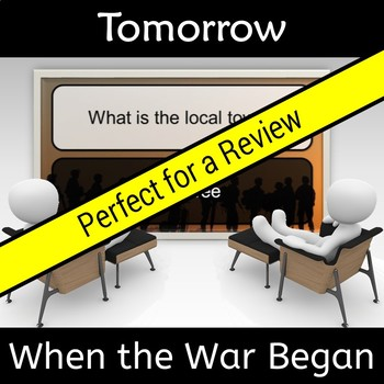 Tomorrow When the War Began Novel Study Review Jeopardy Game