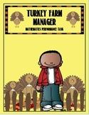 Tom's Turkey Farm Manager Performance Task