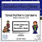 Tonal Pattern Carolers Bundle: An interactive tonal pattern game