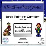 Tonal Pattern Carolers Level 2: An Interactive Music Game