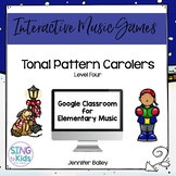 Tonal Pattern Carolers Level 4: An interactive tonal pattern game