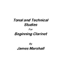 Tonal and Technical Studies for Beginning Clarinet