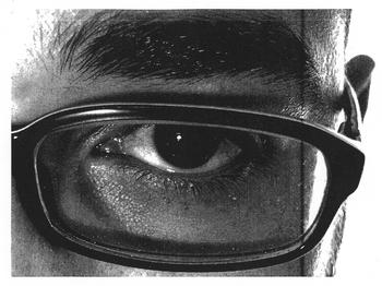 Tonal render of an eye