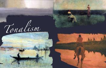 Tonalism ~ Value ~ Tone ~ Painting ~ Art ~ Art History ~ FREE POSTER