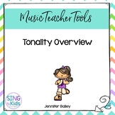 Tonality Overview