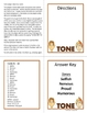 Tone - Author's Tone Spoons Game, 3 Games Included