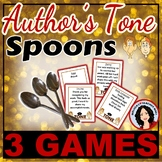 Tone - Author's Tone Spoons Game 3 Games Included