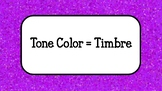 Tone Color