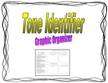 Tone Identifier Graphic Organizer