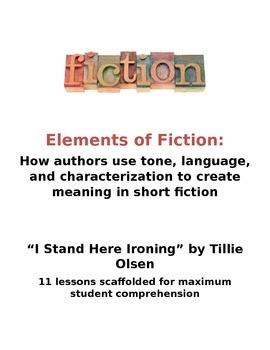 Tone, Language, Characterization Lessons