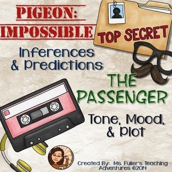 Tone, Mood, Predicting, Inferring, and Plot practice using