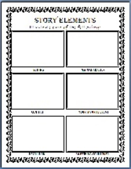 Tone Mood Theme Story Response Templates 62 Pages