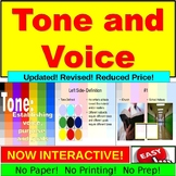 Tone, Voice, Purpose: Activity PowerPoint