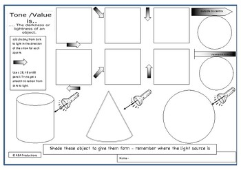 Tone Practice Worksheet