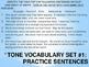 Tone Vocabulary PPT