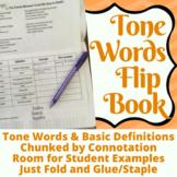 Tone Words Flip Book