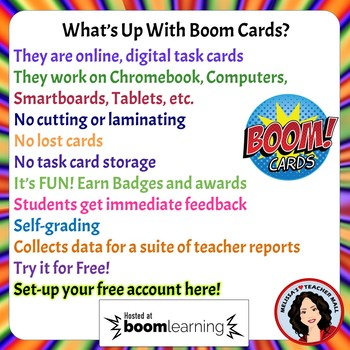 Tone and Mood Boom Cards Digital Task Cards Set 1