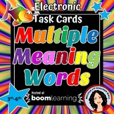 Multiple Meaning Boom Cards Digital Task Cards