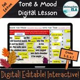 Tone and Mood : Halloween Edition