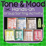 Tone and Mood Hands-On Group Sorting Activity