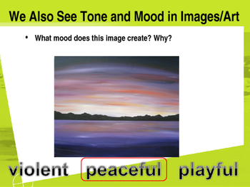 Tone and Mood Introduction