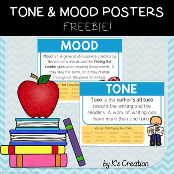 Tone and Mood Posters FREEBIE