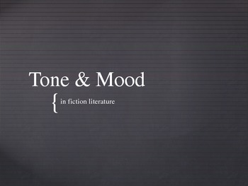 Tone and Mood Powerpoint