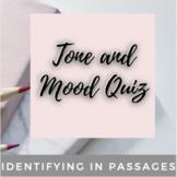 Tone and Mood Quiz