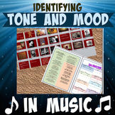 Tone and Mood in Songs with answer key and intro PP