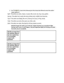 Tone and Narrative Writing Outline and Essay