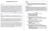 Tone and Structure Test - Based Specifically off PARCC practice test!