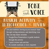 Tone and Voice Introduction or Review Activity