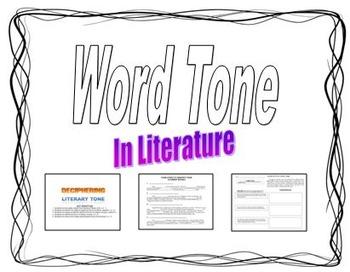 Word Tone in Literature