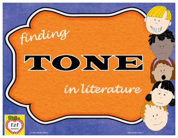 Tone in Literature: lesson and supporting materials