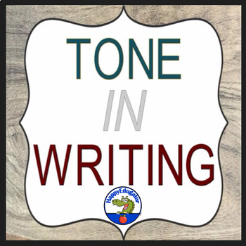 Tone in Writing PowerPoint